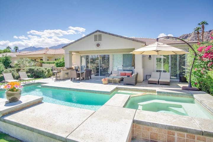 La Quinta Golf Course House with Pool, on Fairway