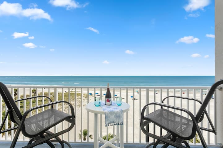 BRAND NEW, beachfront condo w gorgeous water views