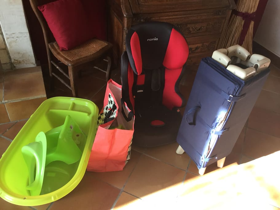 équipements bébés
