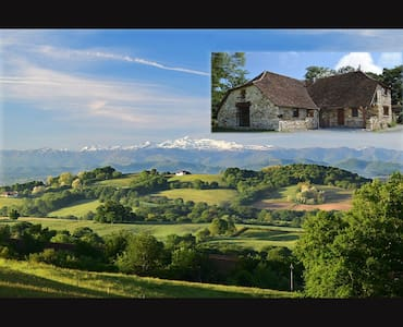 Beautiful house with the best view in France! - Castetbon - Rumah