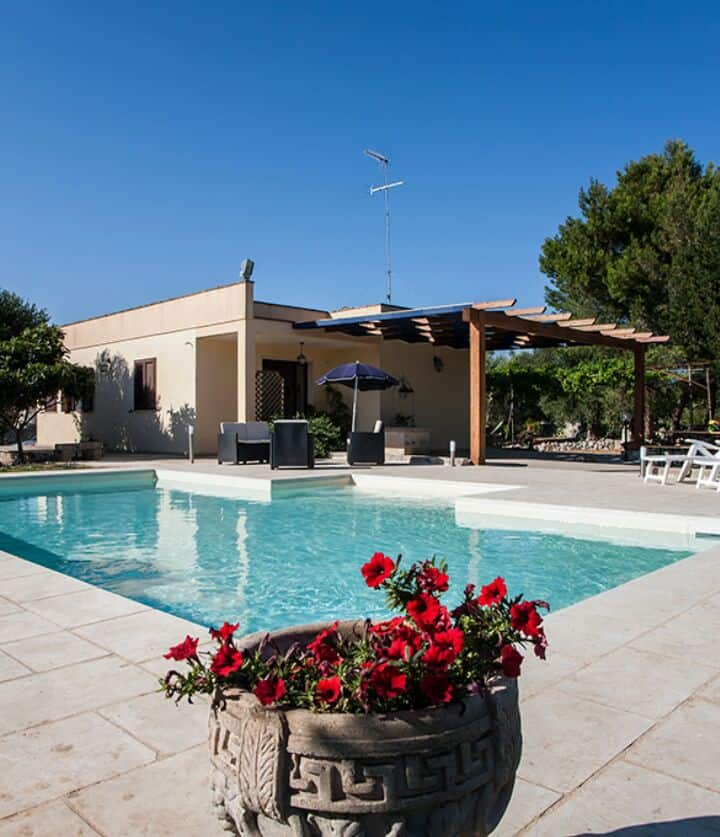 Villa con piscina vicino a Otranto