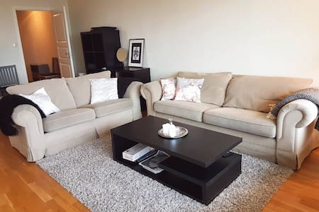 Cozy apartment with large balcony near city center - Bergen - Apartment