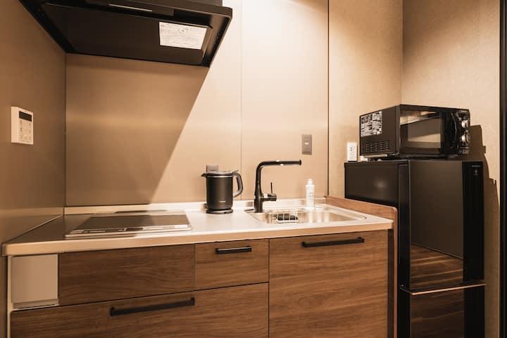 `` Grand Base Beppueki Higashi '' new apartment type hotel opened in December 2019