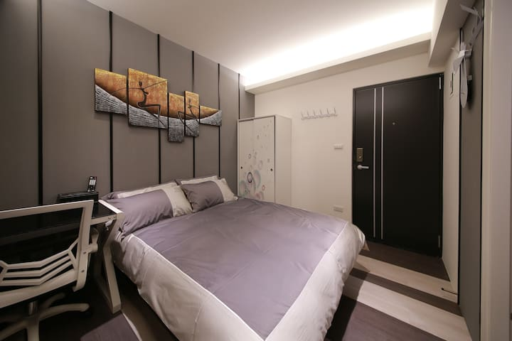 W公寓2B   全新超棒時尚藝術風格獨立衛浴套房