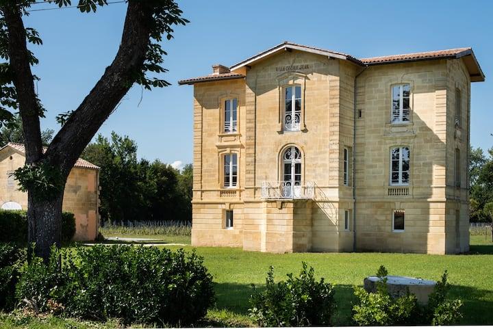 La Villa : Chambre d'Hôtes près de Saint Emilion