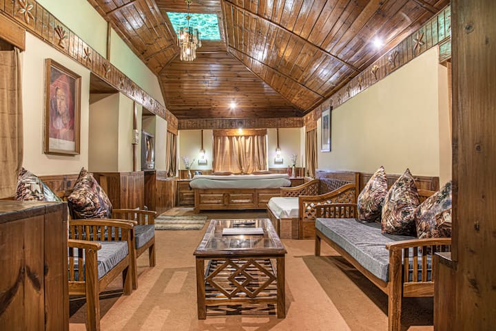 Mountain-view | Wooden Interior | Family Suite