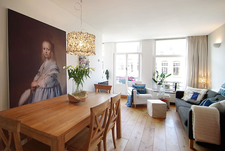 LOVELY apt. with balcony in A'dam west! - Amsterdam - Apartemen