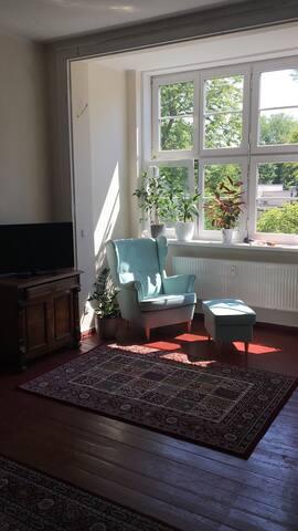 Gemütliches Zimmer am Park
