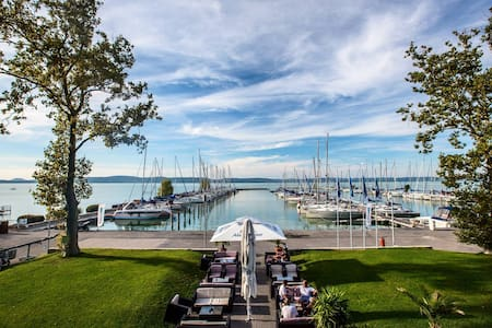 Studio for 2+1 people @ BL YachtClub - Balatonlelle