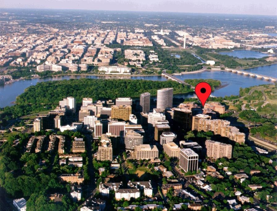 The ultimate location for DC visitors!