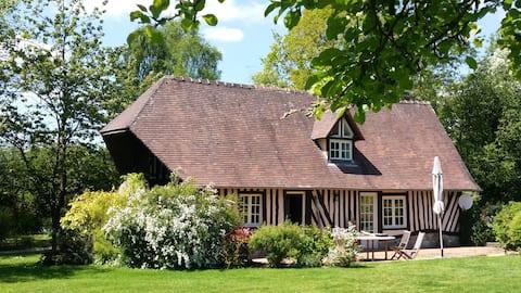 Cottage normand à 10 mn de Honfleur