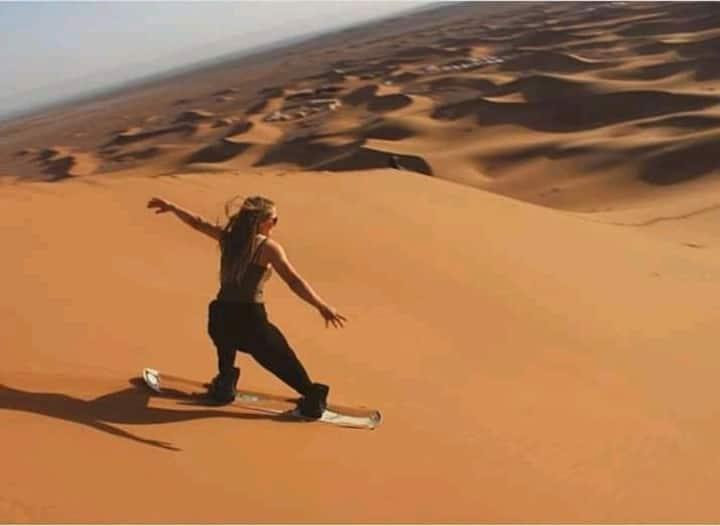 Desert Nomad camp