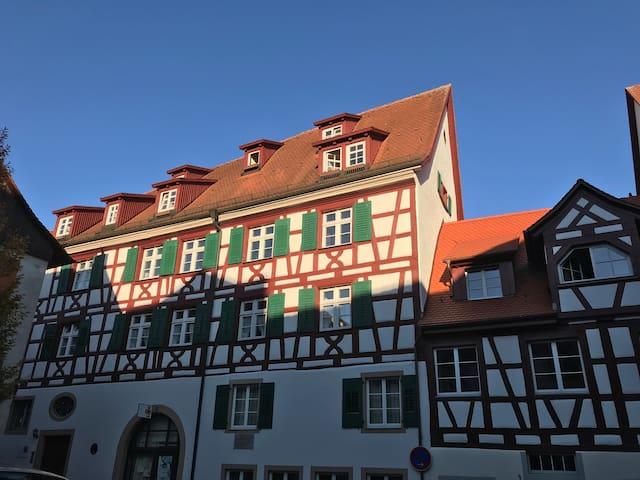 3 Zi-Whg in der historischen Altstadt Meersburg