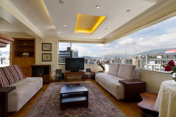 STUNNING PENTHOUSE IN HEART OF BUSINESS DISTRICT