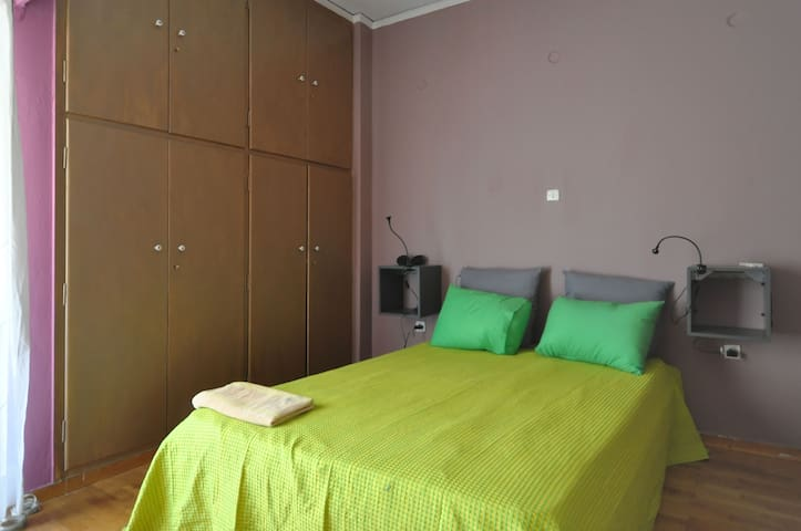 Nice Double Room near City Center - Athina - Lejlighed