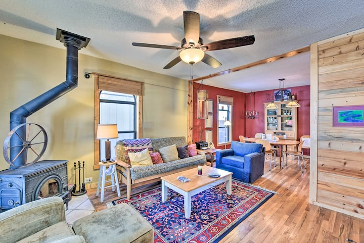 Eclectic Salida Sanctuary 6 Blocks to Downtown!