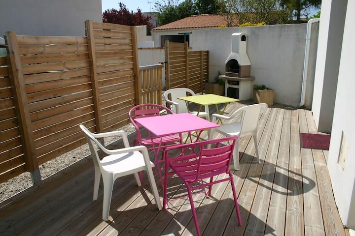 Maison de bourg pour 7 personnes - Longeville-sur-Mer - Alojamiento vacacional
