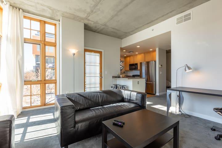 Modern Sunny Loft-Style Condo in Cherry Creek!
