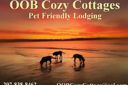 PET FRIENDLY - Cozy Cottages -Beach - Old Orchard Beach