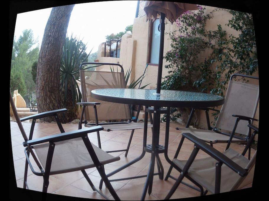 Jardin/terraza