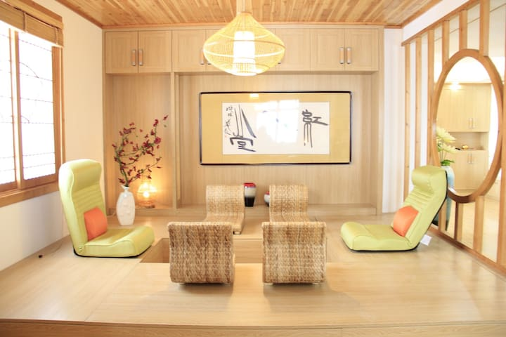 260平米《红人堂》七星级酒店式服务公寓 地暖 西门子电器 日式风格 - 金华 - Apartment