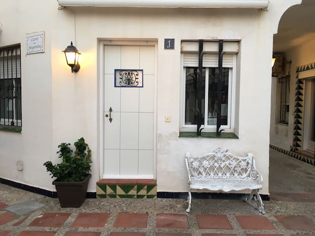 Apartamento de 32m2 en el puerto maritímo de Sitges (playa) - Sitges - Selveierleilighet