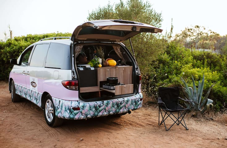 campervan perfect for 2 people