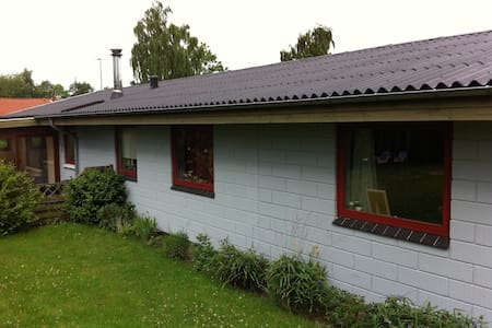 Hus i Løgstrup ved Viborg - Løgstrup