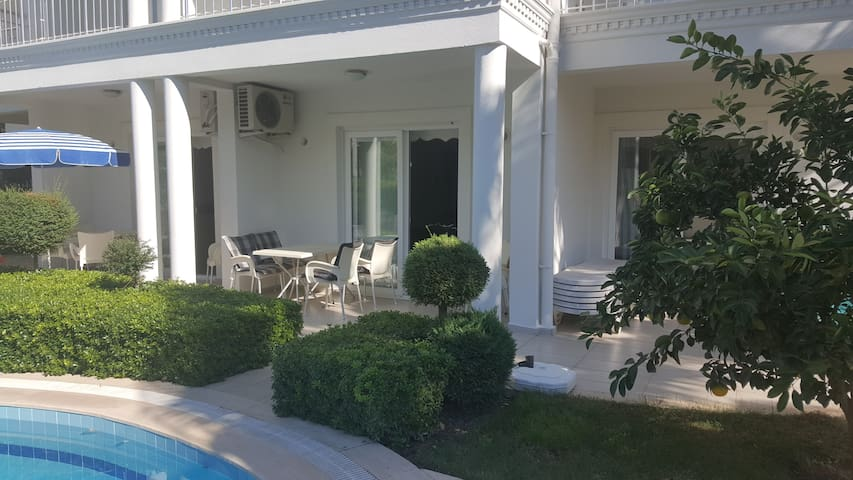 At the center,300 m to beaches, luxury home - Kemer - Wohnung