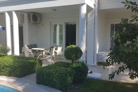 At the center,300 m to beaches, luxury home - Kemer