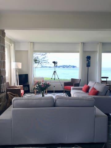 Maison familiale bord de mer Bretagne 10 couchages