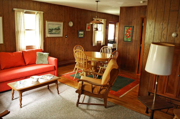 Peaceful, cozy apt. in the midst of the Catskills - Prattsville - Leilighet