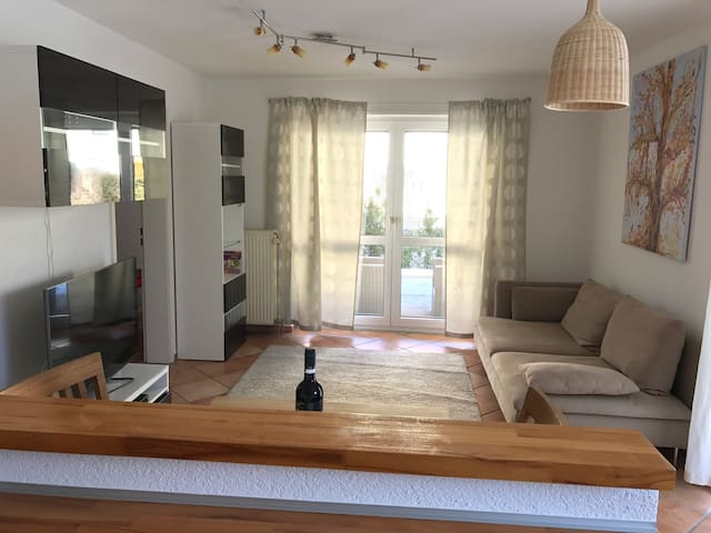 Nice and mediterranean flat for two and maybe baby - Ludwigsburg - Daire