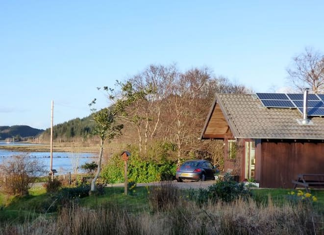 Kirkland - Private Lodge with Lovely Loch Views