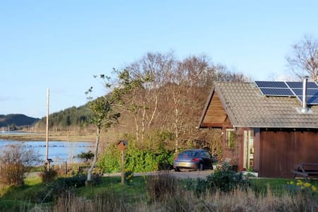 Kirkland - Cosy Lodge, Loch Views - Lochgilphead - Cabanya