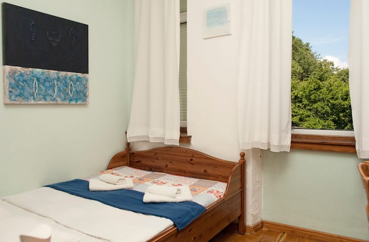 Hotel in griffon vultures area with sea view room6