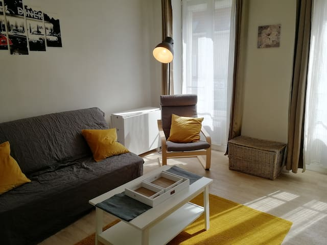 1 BR apt, 20 min train to Paris and Orly airport