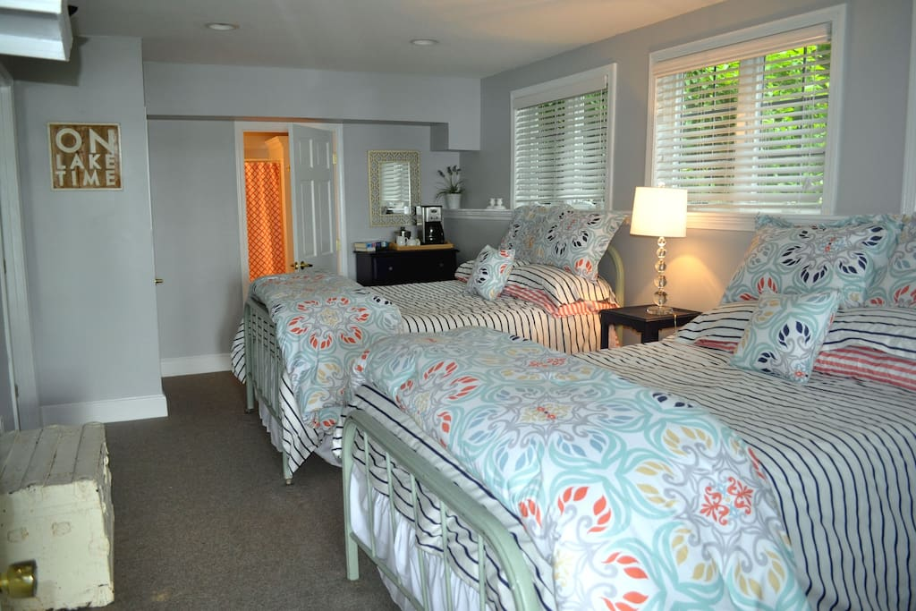 Private Room with 2 full beds & bath.