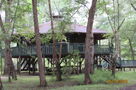 Octagon Cabin on the Canoochee River