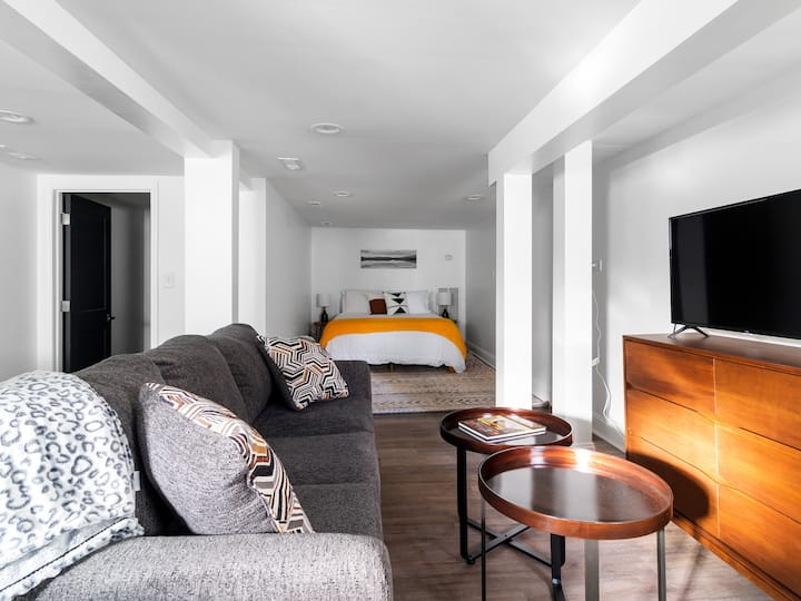Efficiency apartment with boutique hotel feels