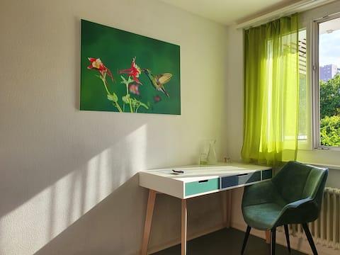 巴登的舒適房間-距離市中心7分鐘