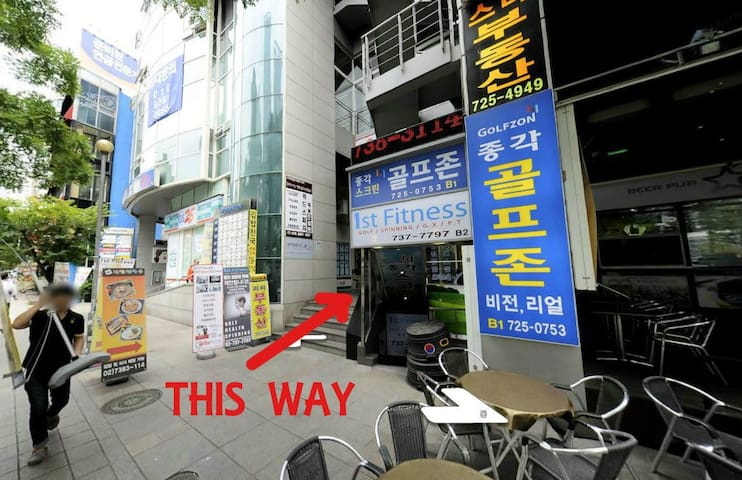 [Myeongdong] Jongno Hans' house 1(Luggage Storage)