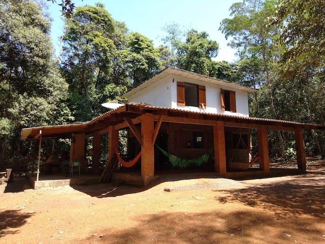 Casa Cabana na Floresta do Jamacá