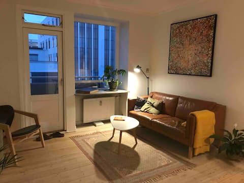 Mysig och ren lägenhet i centrum
