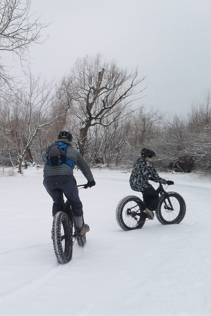 Try fat biking!!