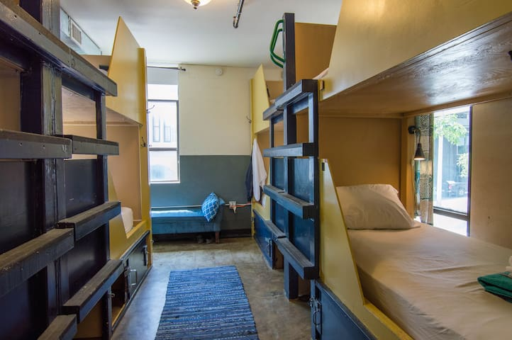 Firehouse Hostel - Dorm Bed