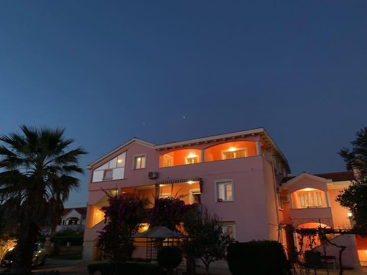 studio apartment,Villa Rossa-Lora, Privlaka