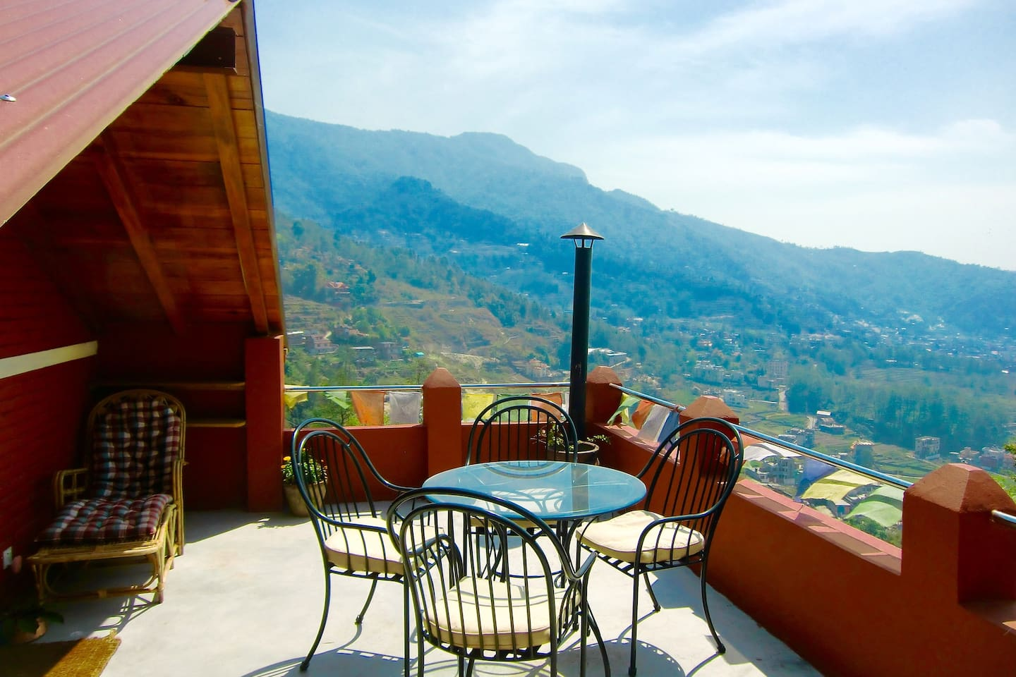 the best terrace and view in Kathmandu
