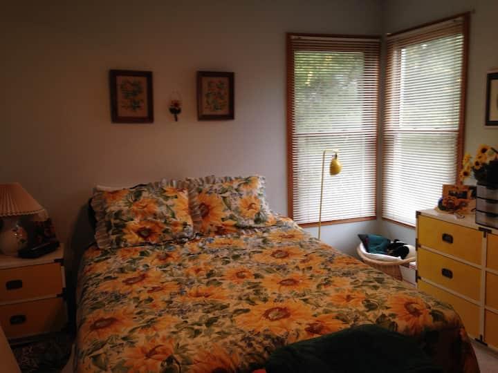 Quiet bedroom in SE Fort Collins