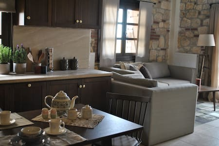 Newly finished luxurious maisonette - Psakoudia - House